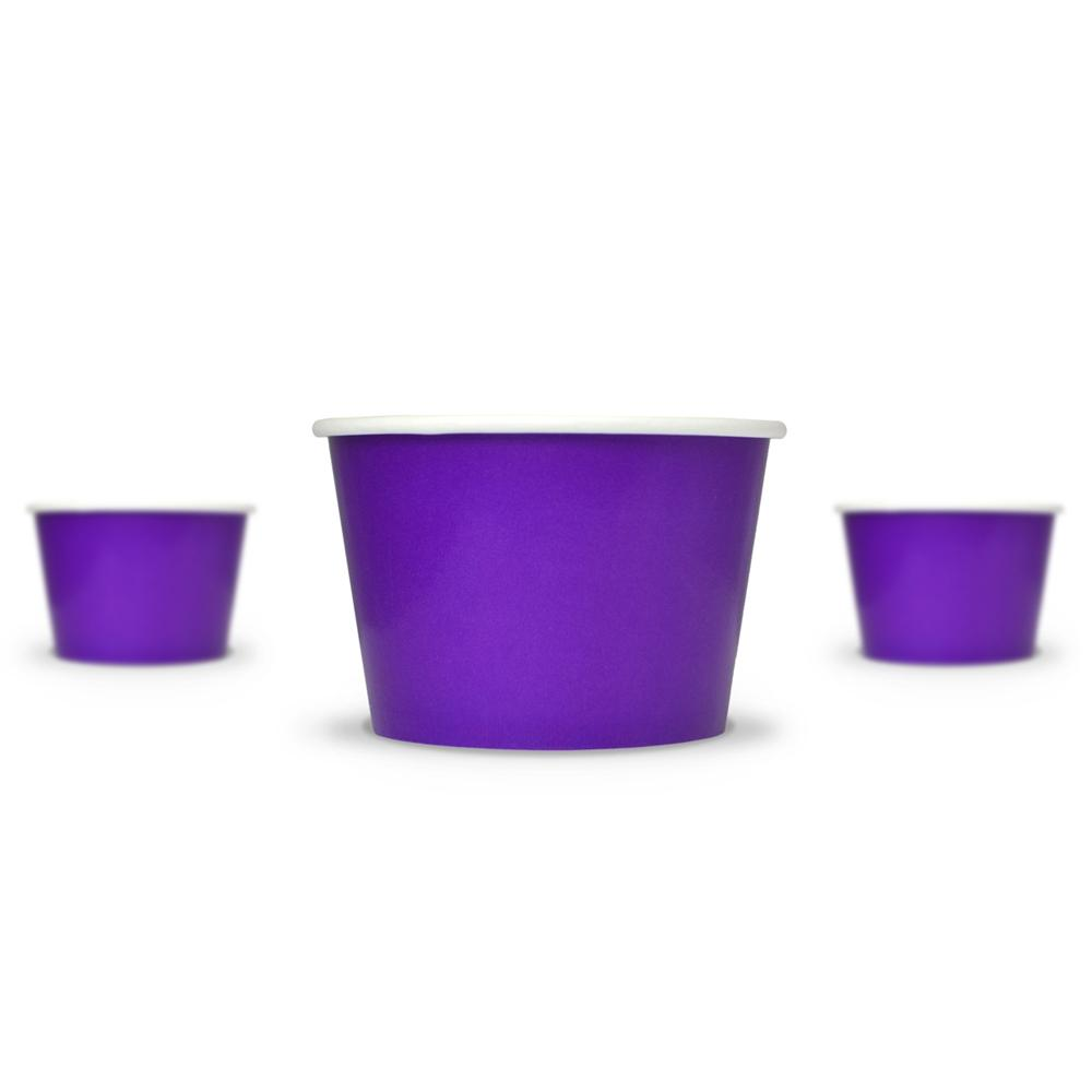 UNIQ 8 oz Purple Take Out Cups