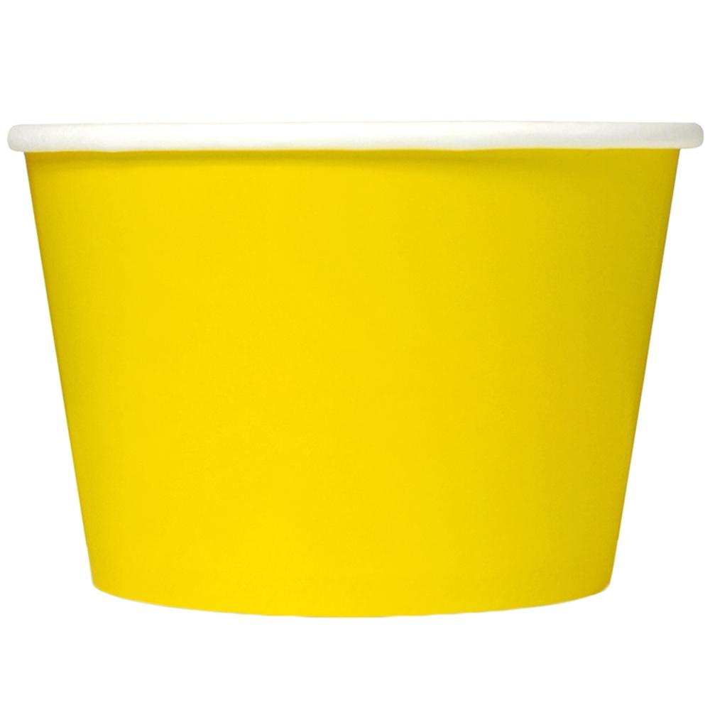 UNIQ 8 oz Yellow Take Out Cups