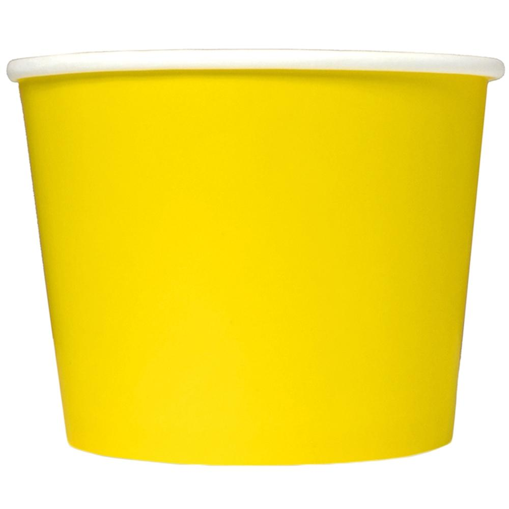 UNIQ 16 oz Yellow Take Out Cups