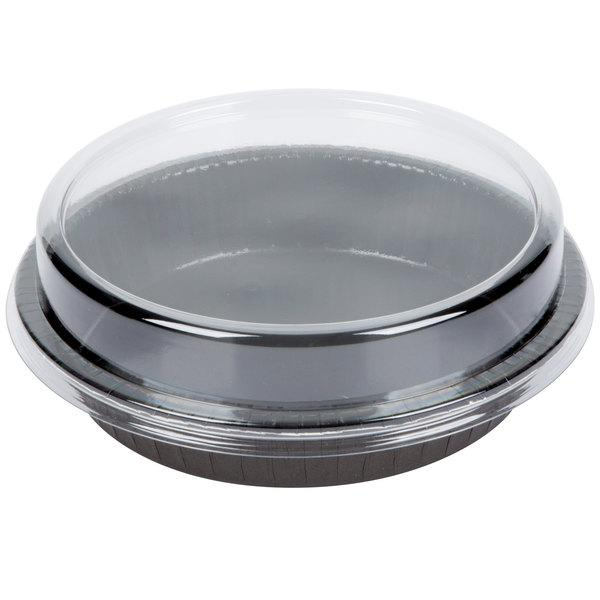 Round Paperboard Oven-Ready Takeout / Cake Pan with Lid