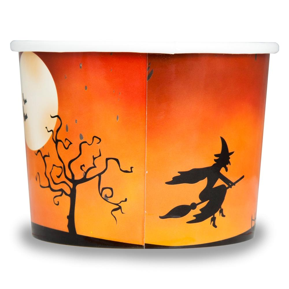 UNIQ 12 oz Spooky Halloween Take Out Cups