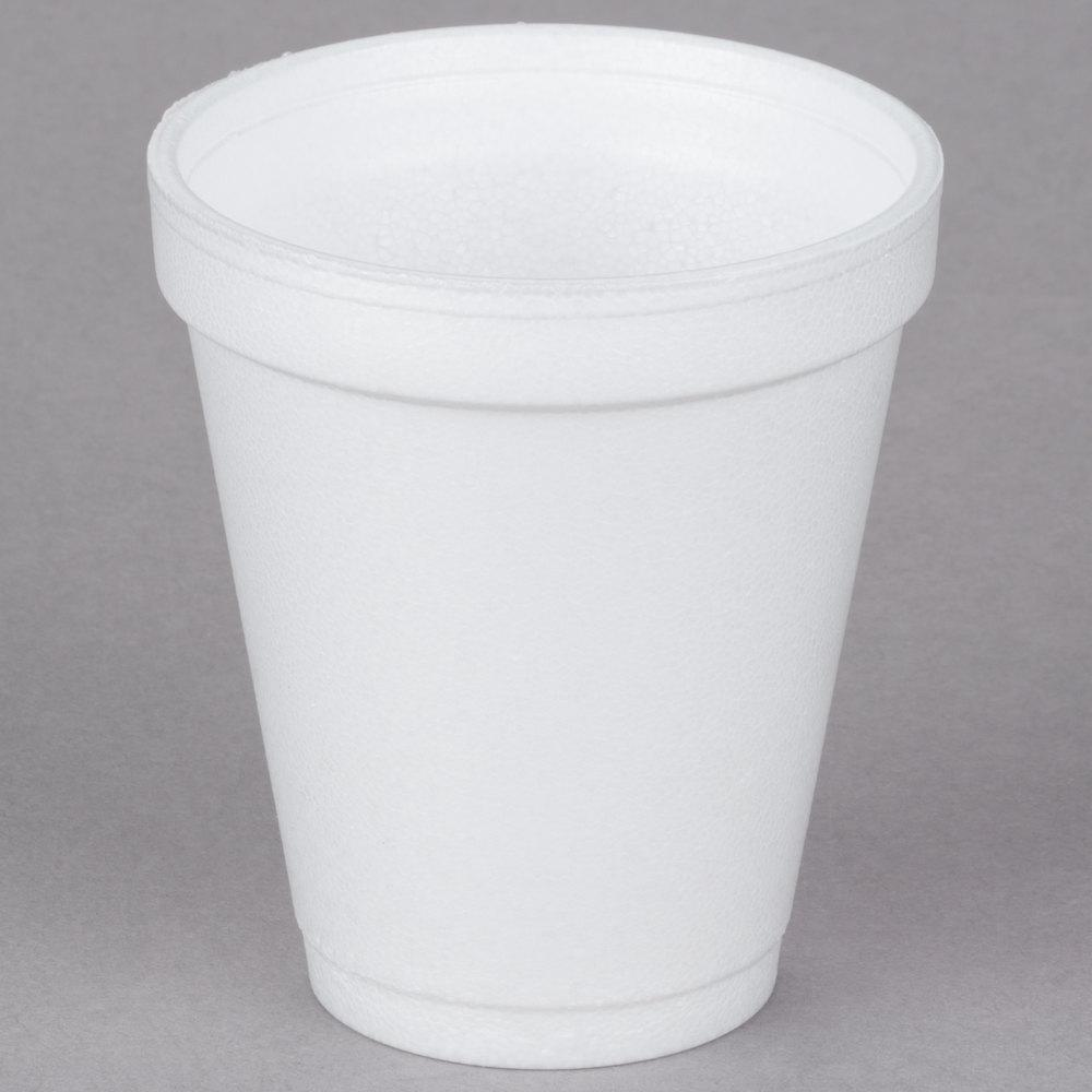 6 oz Foam Drink Cup