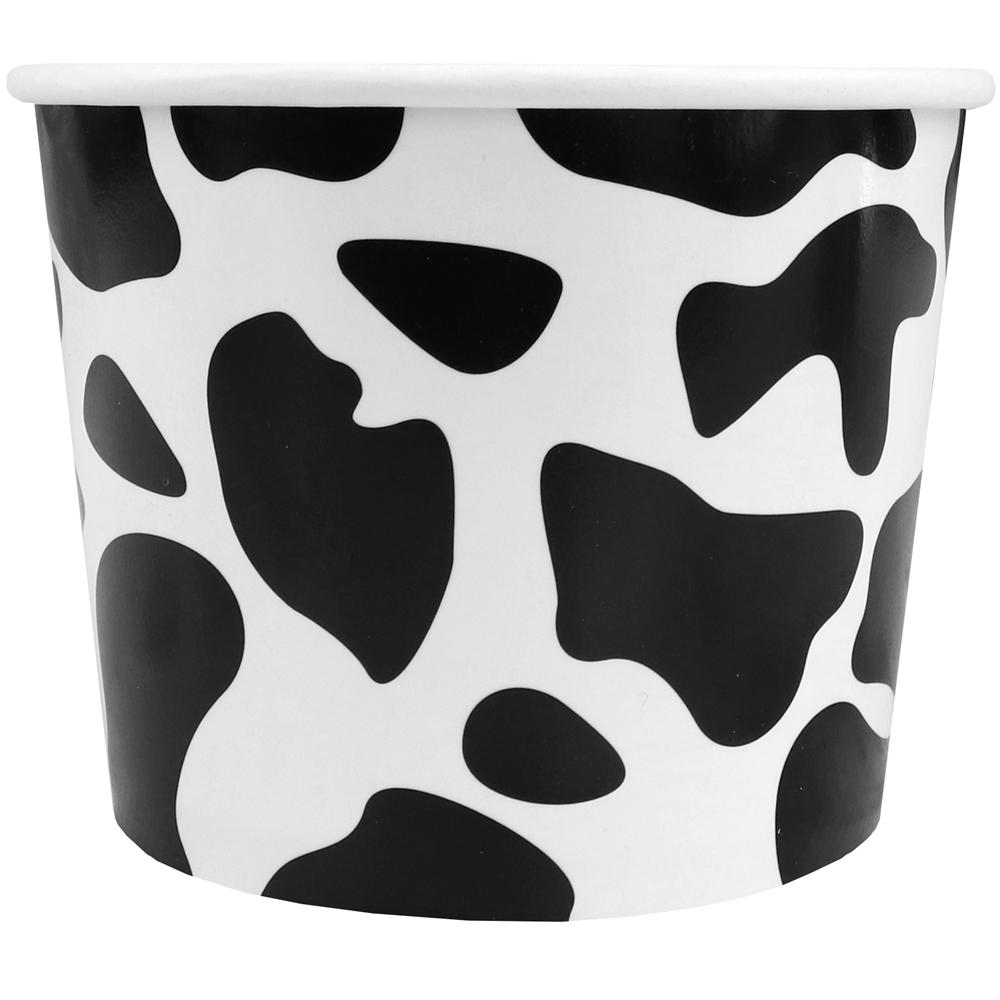 UNIQ 12 oz Cowabunga Black Take Out Cups