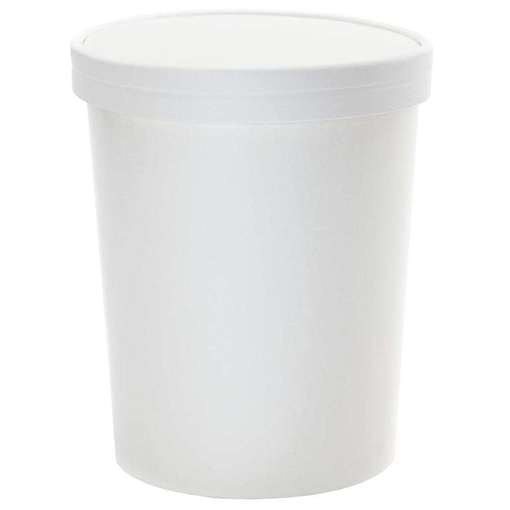 UNIQ® Quart 32 oz Take Out Containers With Non-Vented Lids