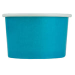 UNIQ 4 oz Blue Eco-Friendly Compostable Take Out Cups
