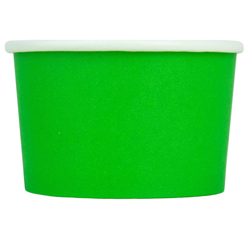 UNIQ 4 oz Green Eco-Friendly Compostable Take Out Cups