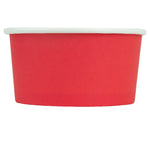 UNIQ 6 oz Red Eco-Friendly Compostable Take Out Cups