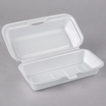 "7"" x 4"" x 2"" - Foam Clamshell Take Out Container"