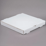 "16"" x 16"" x 1 3/4"" White Pizza Box"