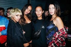 Wang and fellow celebs