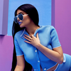 Kylie in sunglasses