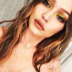GIGI WITH BOLD MAKEUP