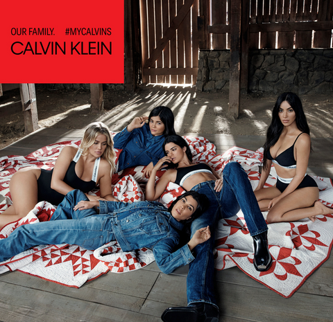 Kardashians and Jenners lying down again posing