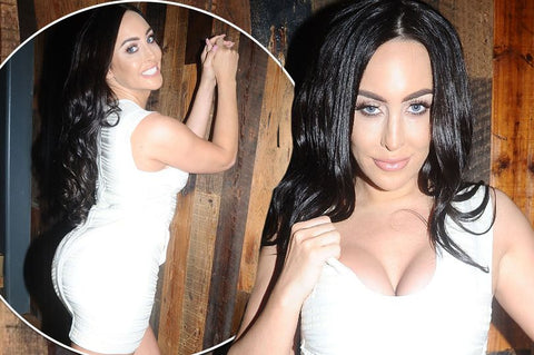 laura alicia, ex on the beach, kieran, white, bandage, dress, the mirror, mirror image style
