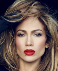 jlo with hairstyle