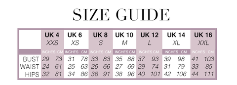 size, guide, sizing, uk, womens, clothing, dresses