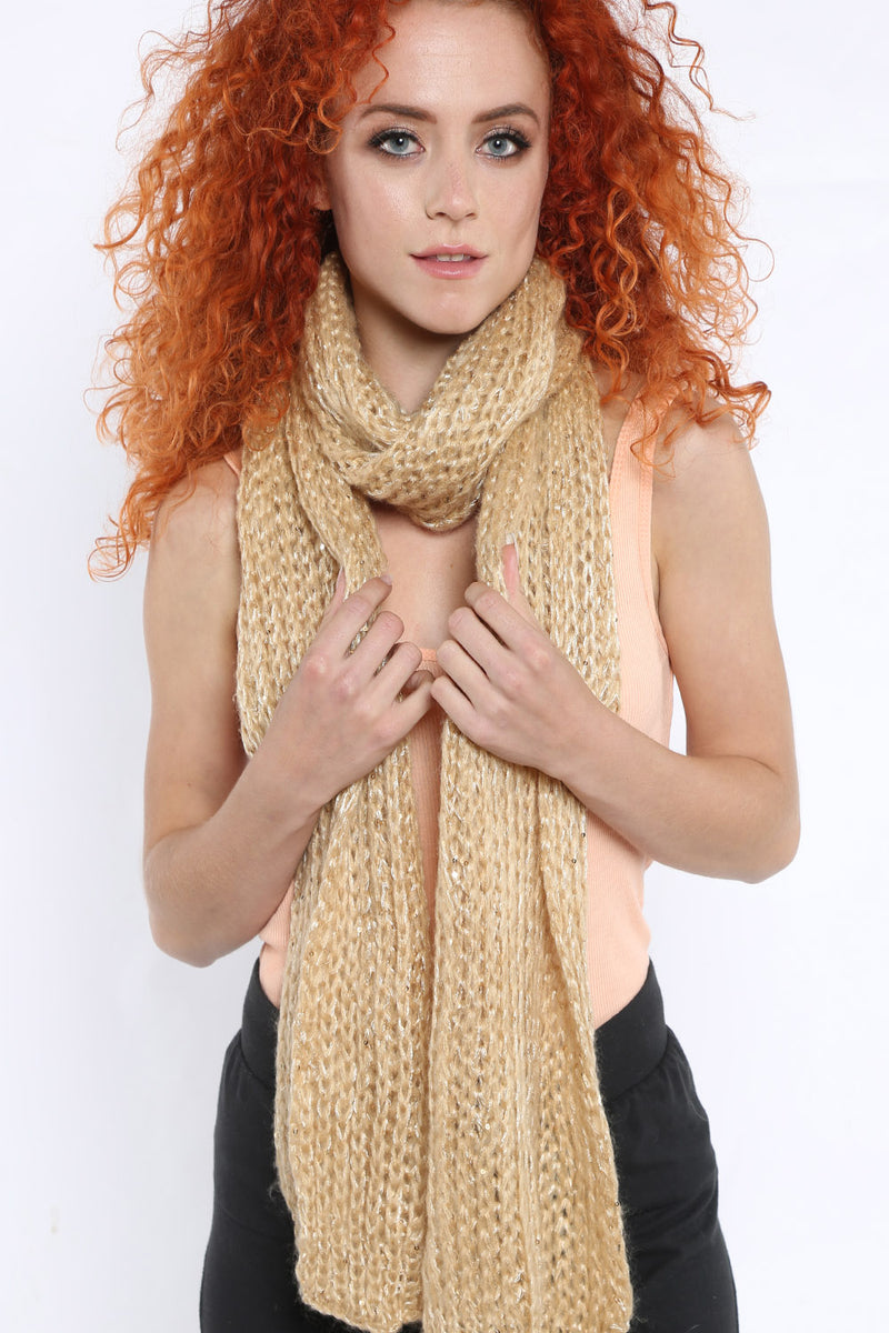 Knit Scarf - Mirror Image Style