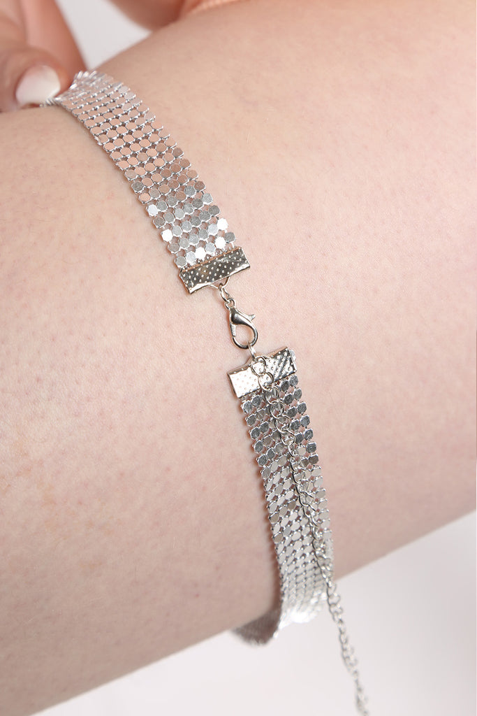 Chain Mail Thigh Bodychain - Mirror Image Style