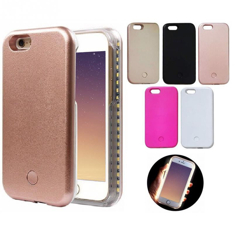 Selfie Light Phone Case - Mirror Image Style