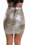 Shimmer Lace Up Skirt - Mirror Image Style
