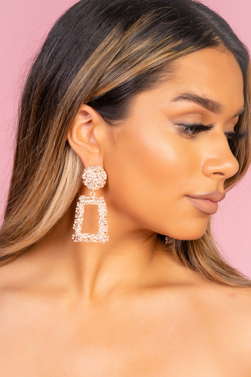 Bold Shape Earrings