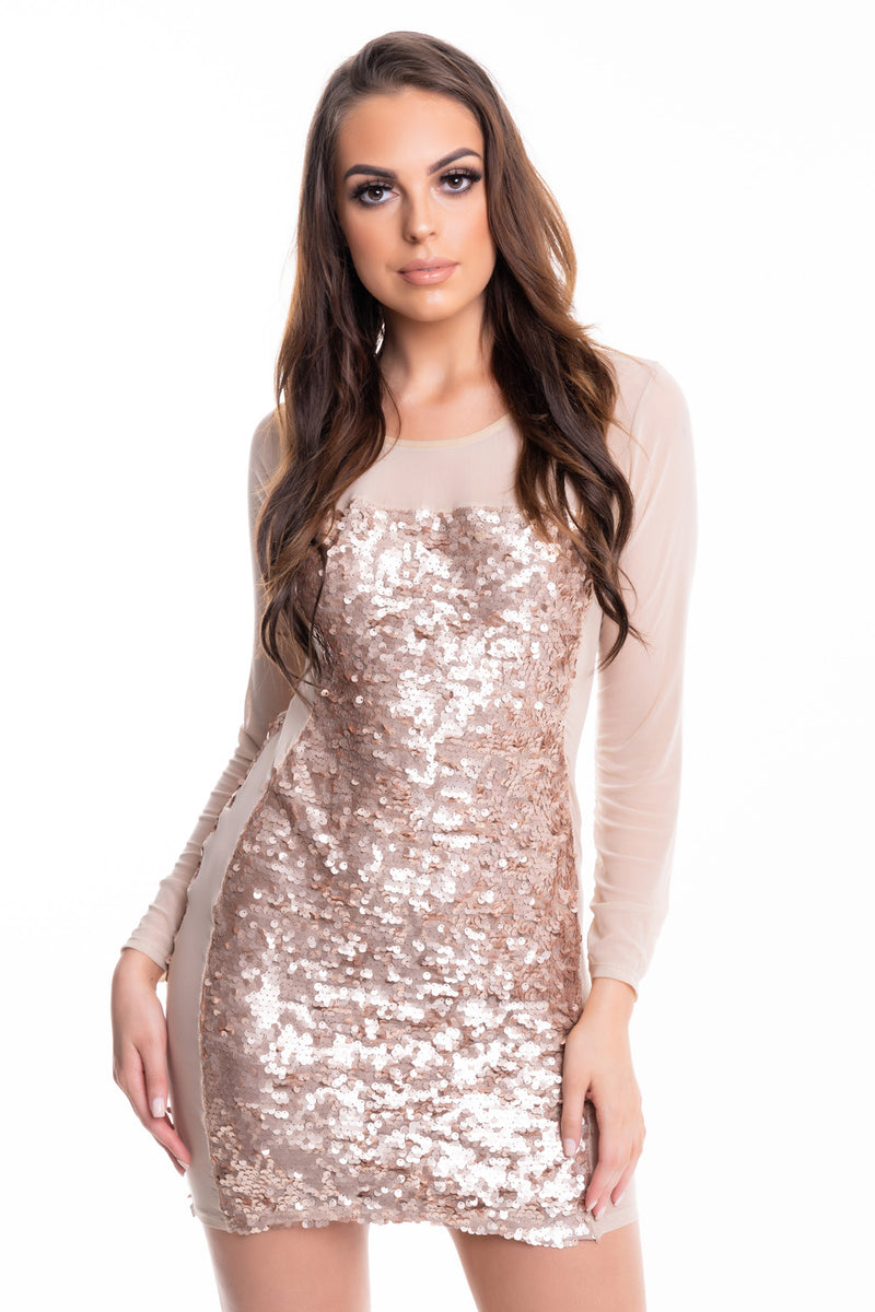Sequin Nude - Mirror Image Style