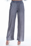 Grey Pleat Trousers - Mirror Image Style