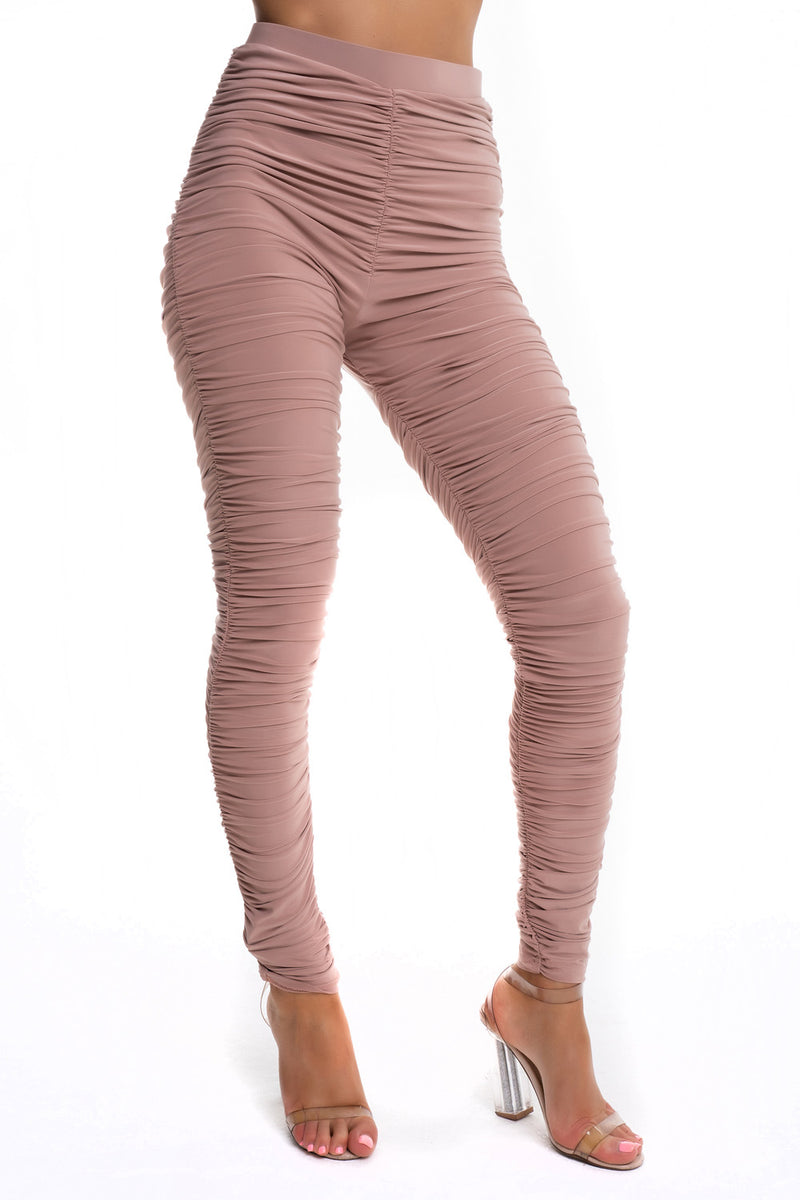 Ruched Leggings - Mirror Image Style