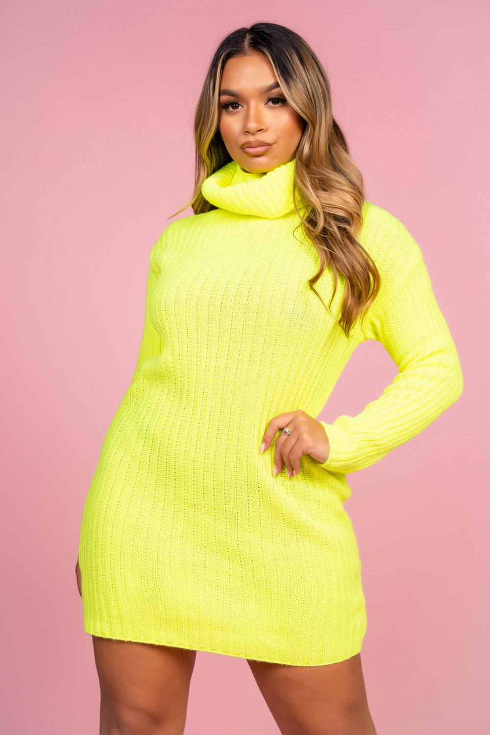 Neon Jumper Dress