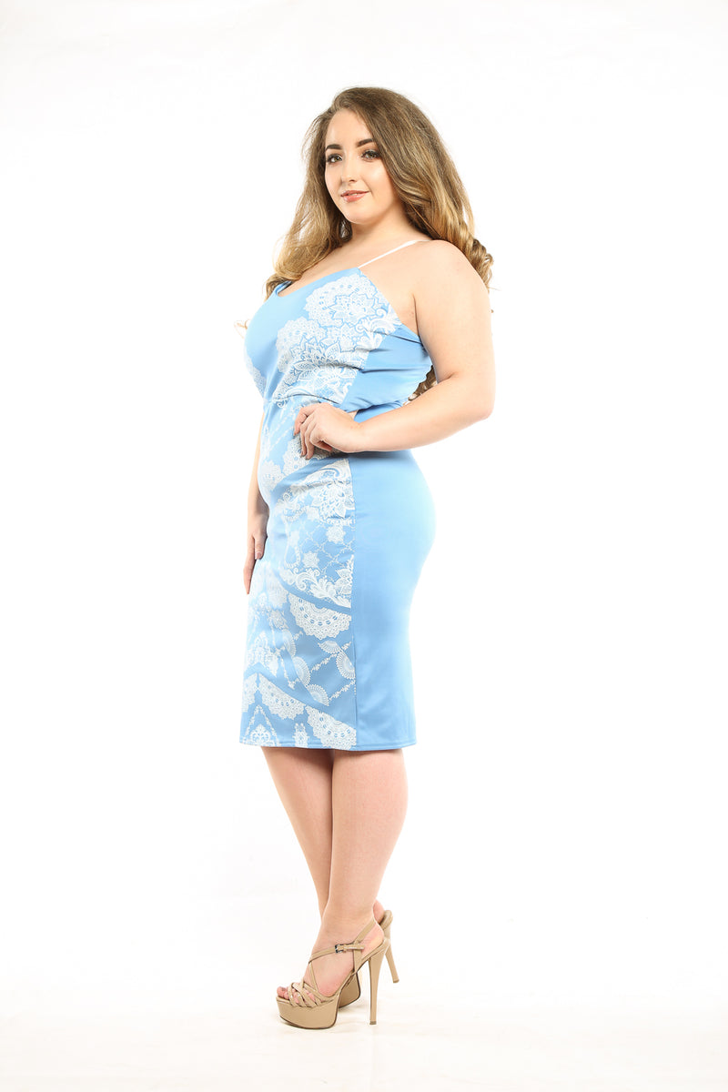 Blue Michelle dress - Mirror Image Style