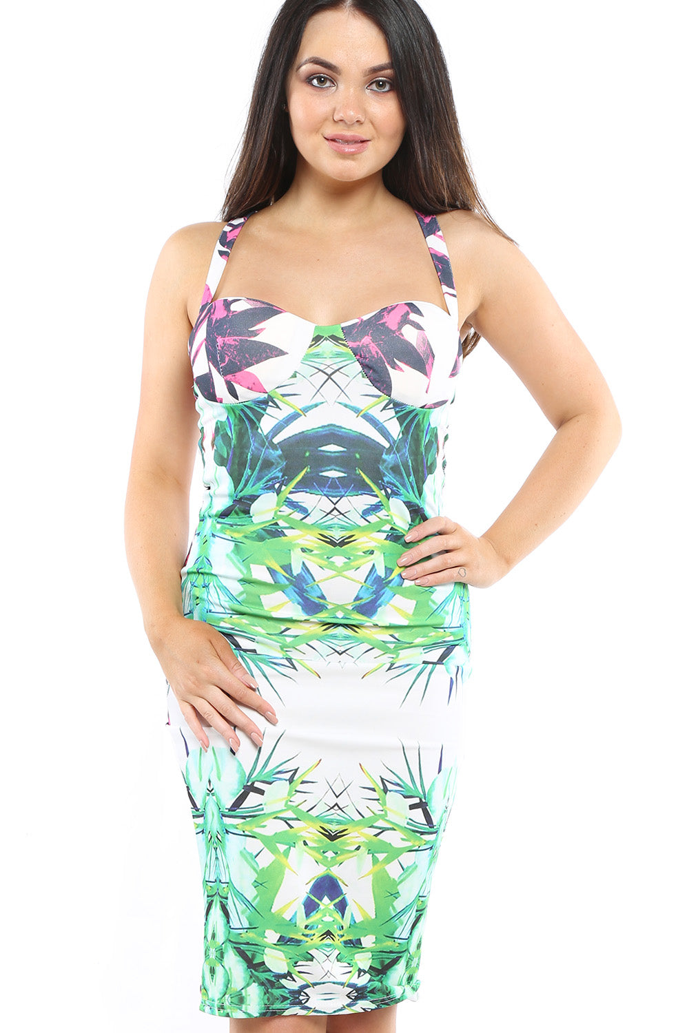 Tropical Print - Mirror Image Style
