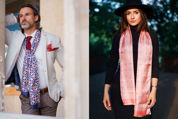 Introducing SILK SCARVES by MEQNES