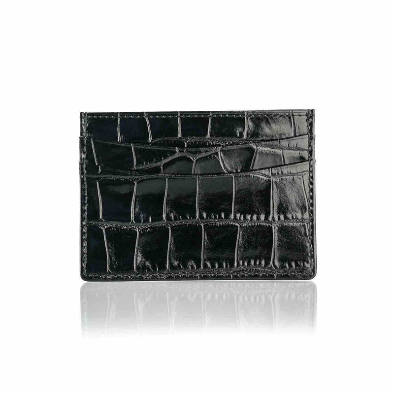 Leather Card Colder BLACK