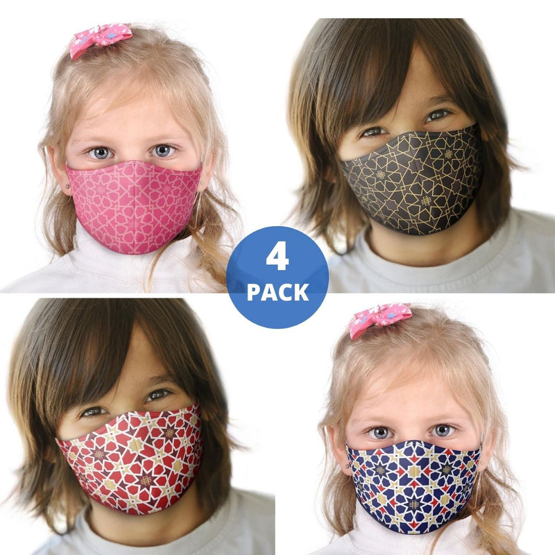Kids Face Mask 4-PACK