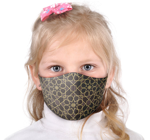 Kids Face Mask - Gilded Brown