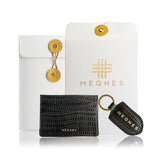 Designer Leather Card Holder by MEQNES