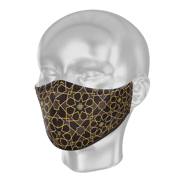 Solidarity Safety Mask - Gilded Brown (Limited Edition)