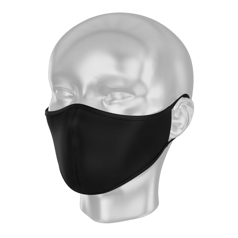 Solidarity Safety Mask - Simply Black