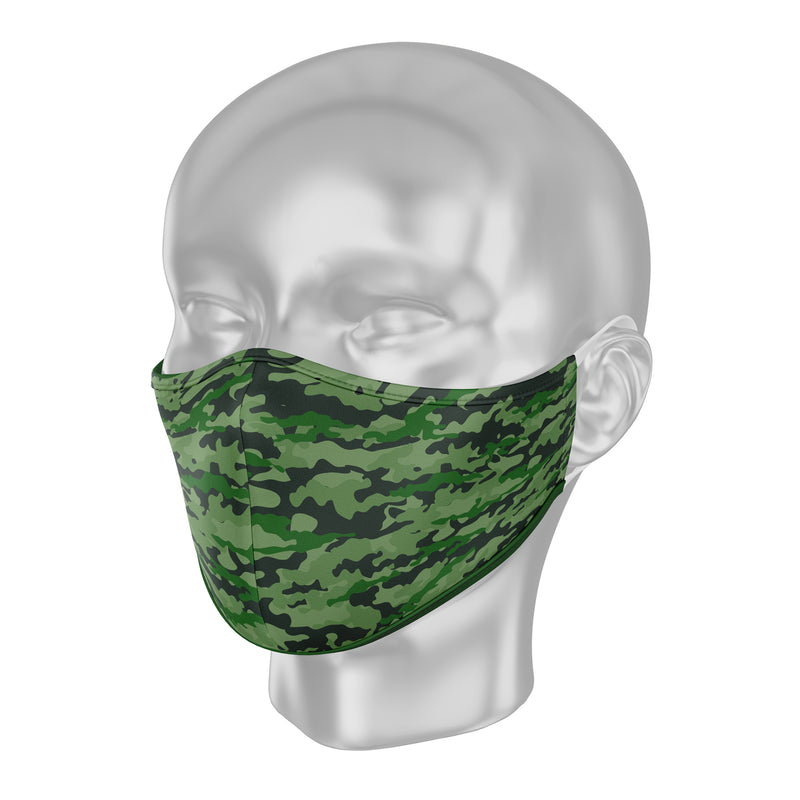 "Solidarity Safety Face Mask - Camo ""Through the Leaves"""