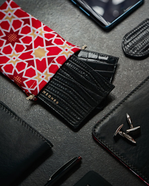 Mystic Black Card Holder