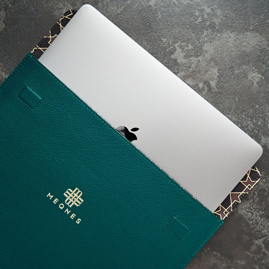 Laptop Sleeve - Emerald Green
