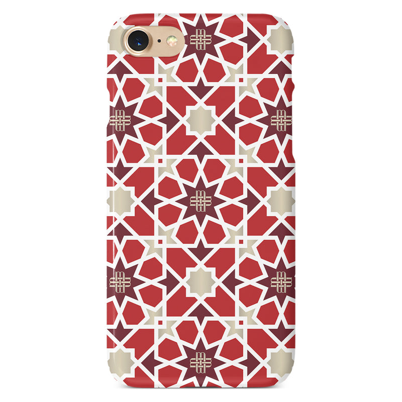 iPHONE CASE - SUNNY RED