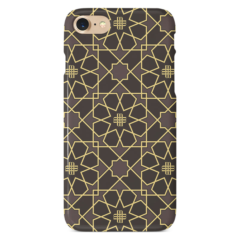 iPHONE CASE - GILDED BROWN