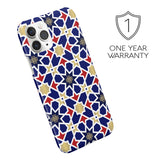 iPHONE CASE - BLUE MOSAIC