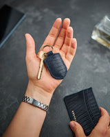Designer Leather Keyring by MEQNES
