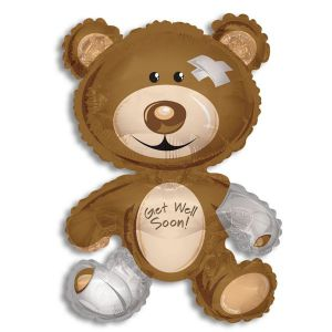 Get Well Teddy Bear-Jumbo
