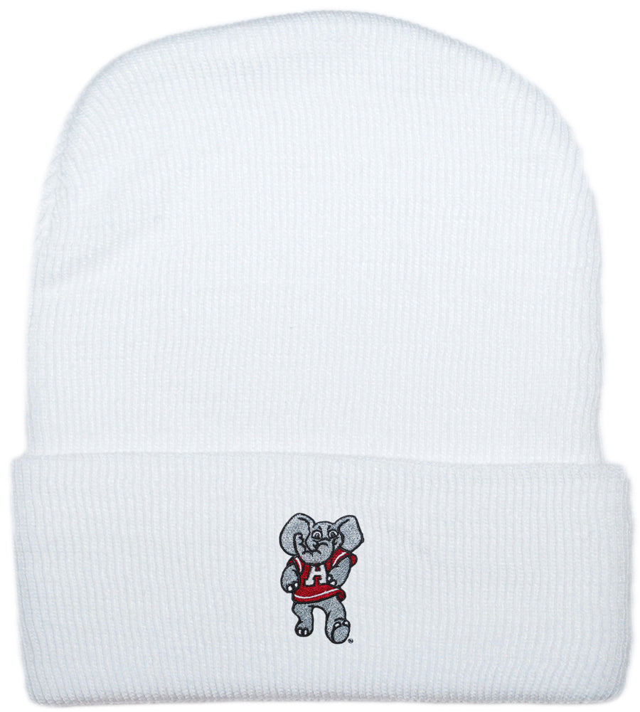 Big Al White Knit Cap