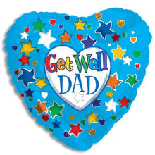 Load image into Gallery viewer, Get Well Dad Balloon