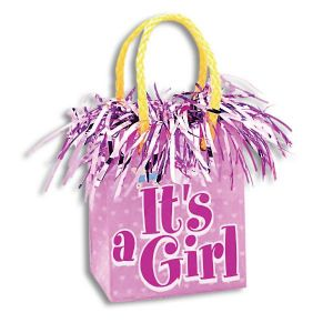 It's a Girl Gift Balloon Weight