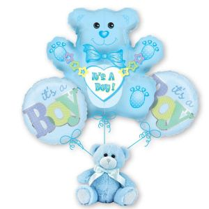 It's a Boy Bear Bouquet
